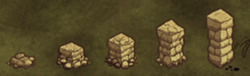 Stone Wall tiers