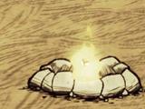 Obudowane ognisko