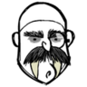 Elegant MacWolf Bald Cap