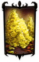 Classy Pile of Lucky Gold Nuggets Portrait