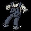 Spiffy Overalls Hyper-Intelligent Blue