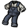 Spiffy Overalls Hyper-Intelligent Blue