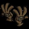 Classy Buckled Gloves Werebeaver Brown