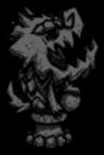 Kamienna figura glinianego psa gończego (event)