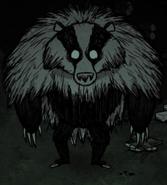 Borsukoniedźwiedź nocą (mod)