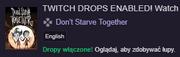 Komunikat twitch drops
