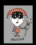 Skórka dla Wesa o nazwie Wes'Harlequin