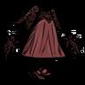 Distinguished Velvet Rose Frock