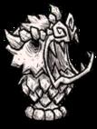 Marmurowa figura glinianego Warga (event)