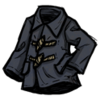 Distinguished Toggle Jacket (Monastral Blue)