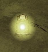 Zapalona latarnia