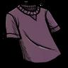 T-Shirt snail mucus purple