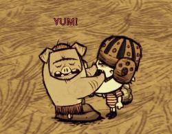 Pig is full