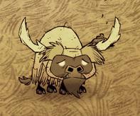 Ogolony bizon