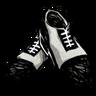 Spectator Shoes (Scribble Black)
