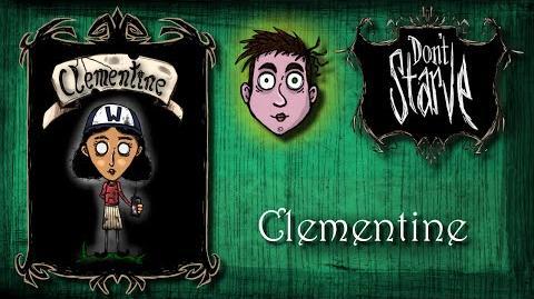 Don't Starve - Mod Clementine (sezon 1)