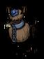 Ślepy jeleń z niebieskim klejnotem (DST)