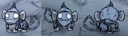 Małpa jaskiniowa w grze