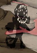 Koszmarna małpa w grze