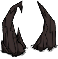 Strzelisty stalagmit