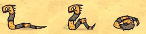 Wąż jadowity w grze (DSS)