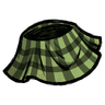 Classy Plaid Skirt Science Experiment Green