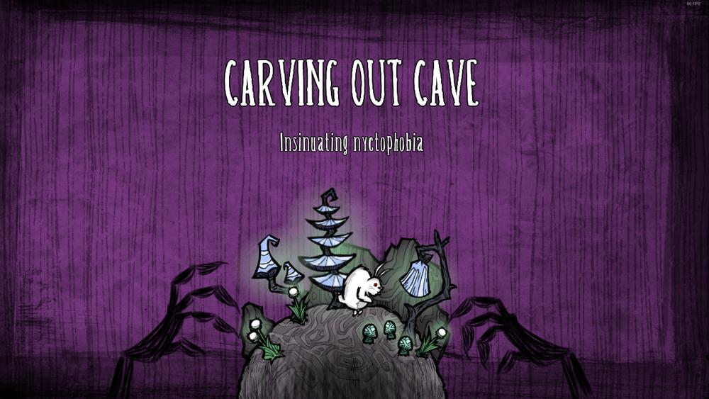 Cave loading screen bunnyman