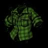 Lumberjack Shirt Being Uneasy Green