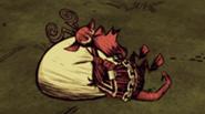 Śpiący Krampus