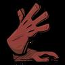 Red Gem Red Long Gloves