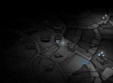 Relikty w ruinach