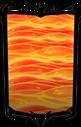 Classy Molten Lava Portrait