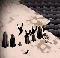 Opadające obeliski