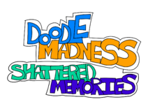DOODLE MADNESS Shattered Memories Logo Revamped PNG