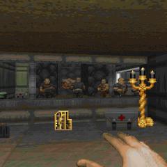 Жёлтый ключ и большое окно