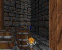 Закрытая секретная дверь в Heretic