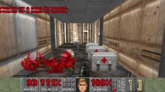 Doom (1993) - E1M2 Nuclear Plant 4K 60FPS