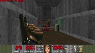 Doom (1993) - E1M5 Phobos Lab 4K 60FPS