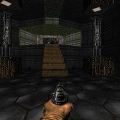 Лестница ведущая к зелёной броне
