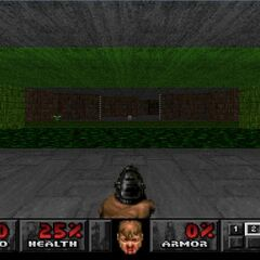 Начало уровня в версии для Playstation