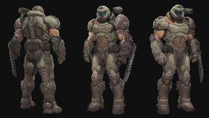 Doom Eternal броня концепт арт