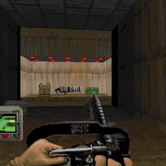 Пулемёт спрятанный в компьютерном зале (секрет #7)