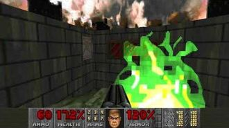 Doom II (1994) - MAP19 The Citadel 4K 60FPS