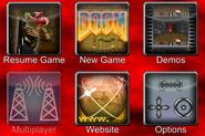 Doom Classic main menu