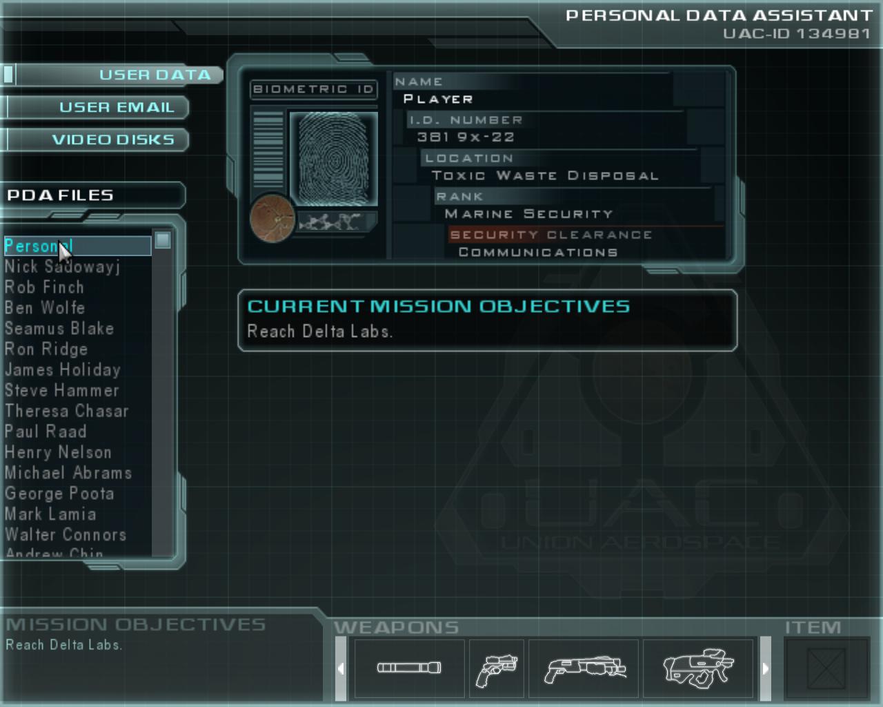 Doom 3 Bfg Storage Locker And Door Unlock Codes Guide How To