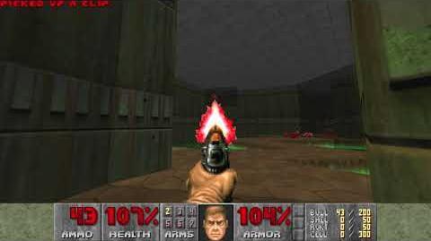 Doom (1993) - E1M1 Hangar 4K 60FPS