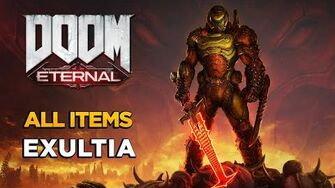 DOOM ETERNAL - Exultia - ALL COLLECTIBLES GUIDE