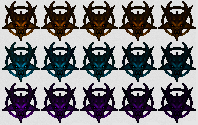 Sprites for demon keys from Doom 64