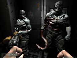Doom 3 Commandos Size Comparison
