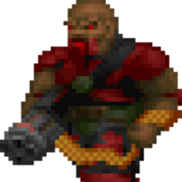 Heavy Weapon Dude Doom Ii Doom Wiki Fandom